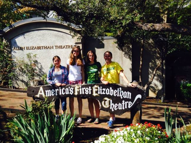 Family trip to Ashland, OR for the Shakespeare Festival